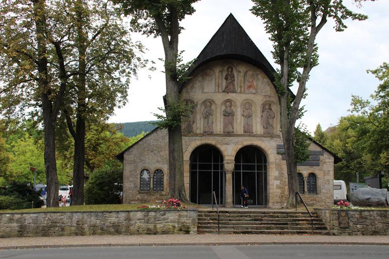 Der einzige erhaltene Rest des Domes von Goslar