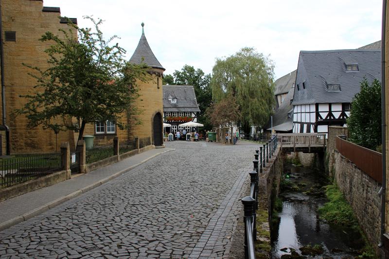 Goslar wirkt sehr gepflegt und romantisch