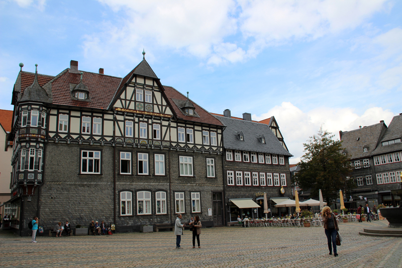 In Goslar finden sich zahlreiche Fachwerkhäuser