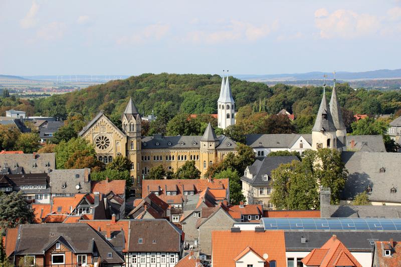 Blick vom Turm der Marktkirche in Goslar