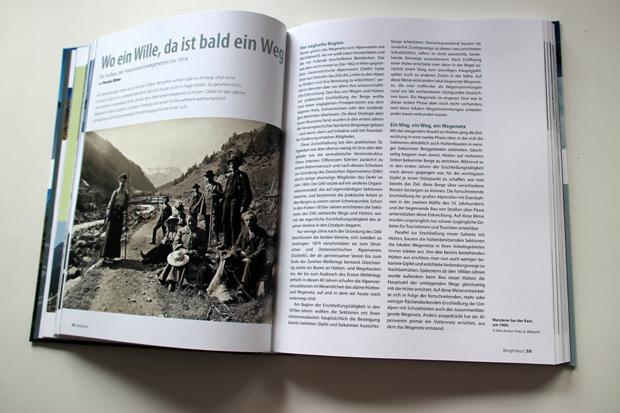 Auch viele historische Aufnahmen sind in Berg 2017 zu finden