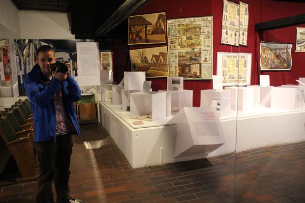 Ein Selfie im Siegfriedmuseum Xanten