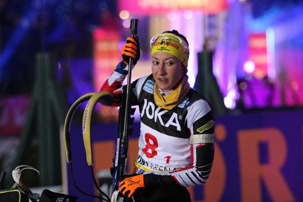 Die Österreicherin Julia Schwaiger belegte am Ende Platz 5