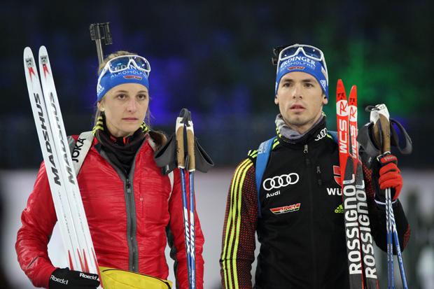 Vanessa Hinz und Simon Schempp waren die Stars des Abends