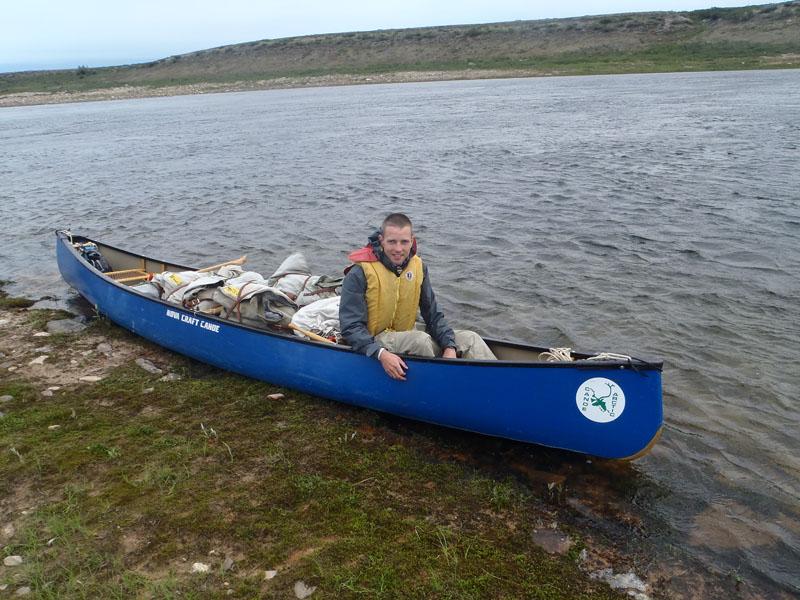 Mit diesem Kanu bin ich durch die Wildnis gepaddelt