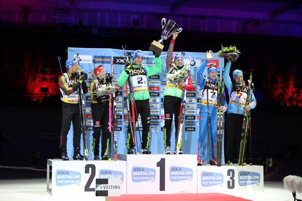 Vier Deutsche auf dem Siegertreppchen
