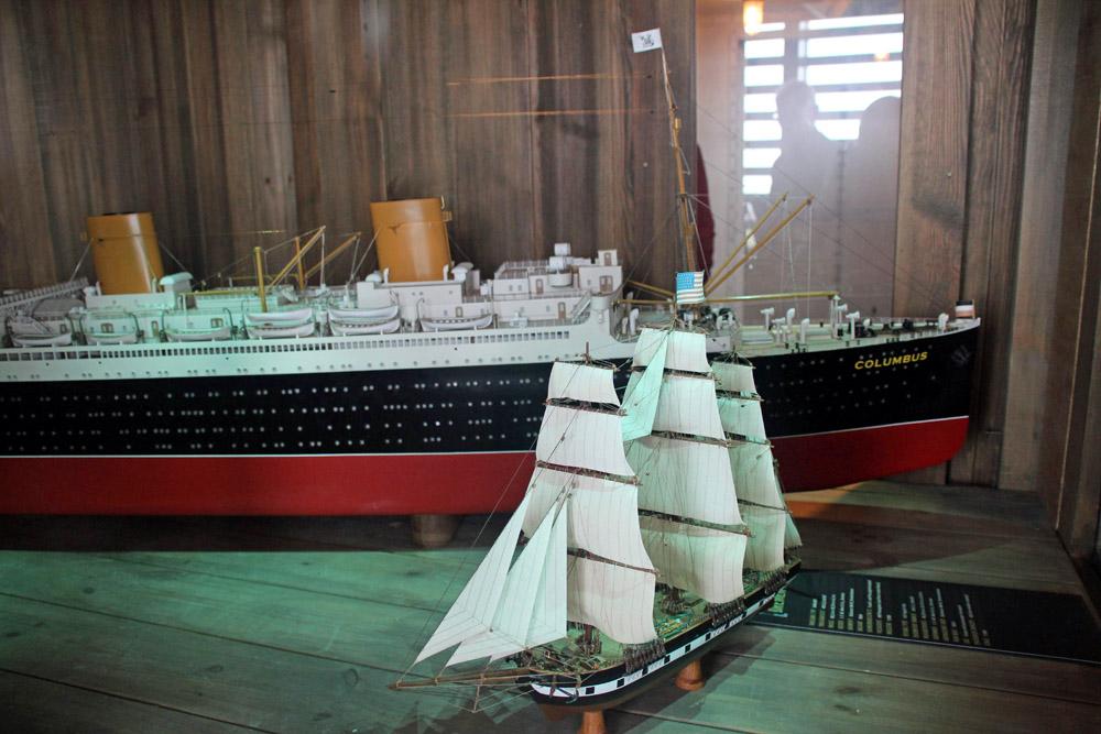 Nachbildung der Columbus im Deutschen Auswandererhaus Bremerhaven