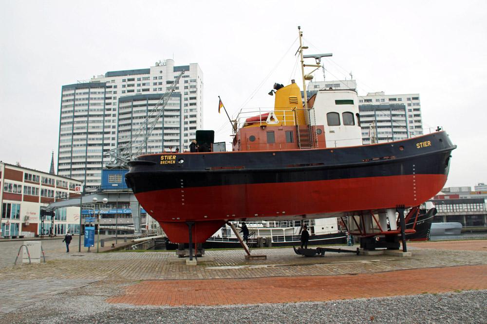 Ein Schlepper im Museumshafen von Bremerhaven