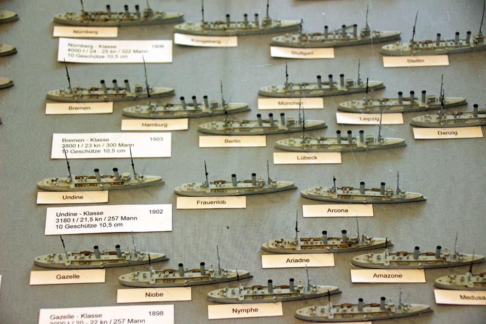 Kriegsschiff Flotte der kaiserlichen Marine