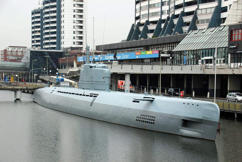 Historische Sehenswürdigkeit - Ein altes U-Boot aus dem Zweiten Weltkrieg kann man in Bremerhaven besichtigen
