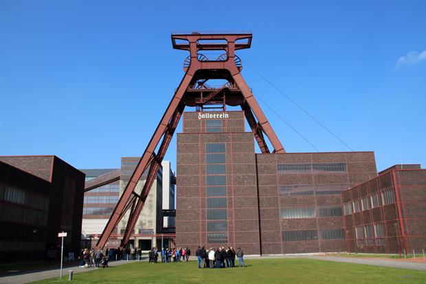 Die Zeche Zollverein in Essen
