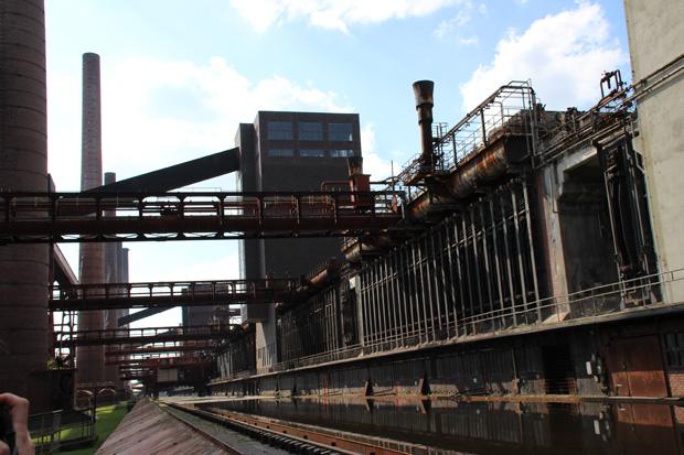Neben der Zeche Zollverein liegt die Kokerei Zollverein