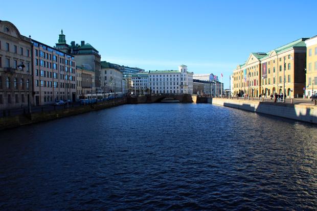 Das Stadtbild ist vom Wasser geprägt