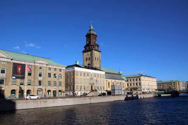 Die Christinenkirche ist das Gotteshaus der deutschen Gemeinde in Göteborg