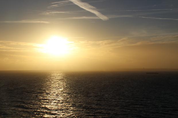 Als die Sonne aufging, war die Kieler Förde nicht mehr weit