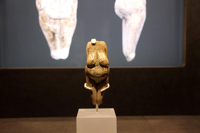Kaum zu glauben, dass diese Skulpturen in der Eiszeit entstanden.