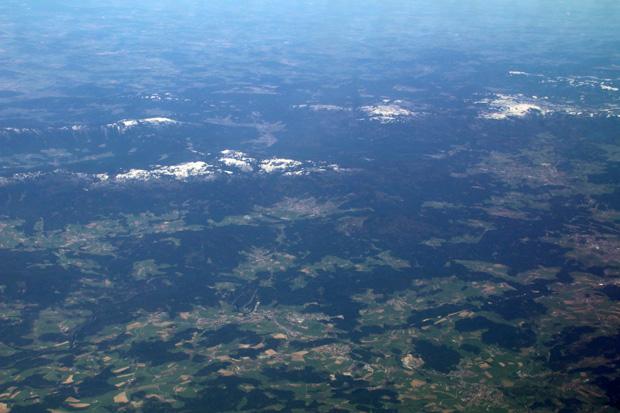 Im Bayerischen Wald lag Schnee