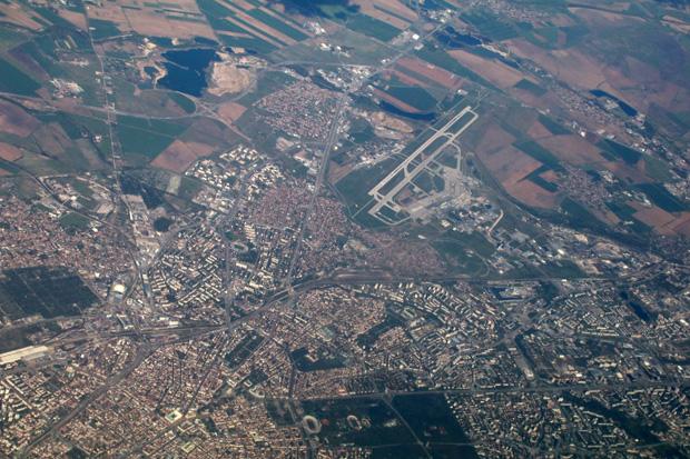 Bulgarien und die Hauptstadt Sofia wurden überflogen