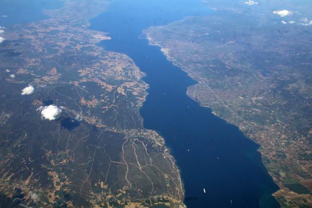 An den Dardanellen war die Türkei erreicht