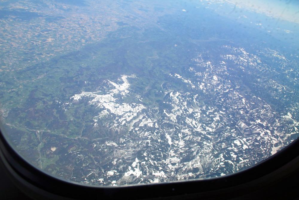 In Österreich wurde der Schnee mehr