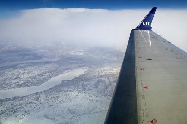 Das Dovrefjell lag unter einer dichten Schneedecke