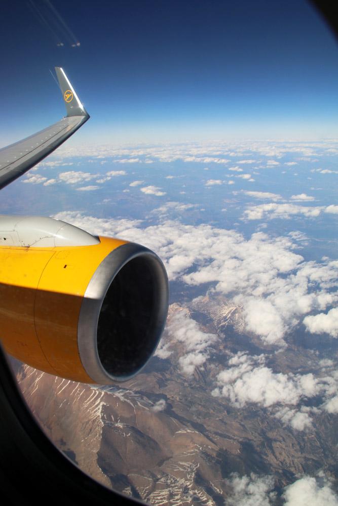 Bei Antalya wurde die Türkei wieder verlassen