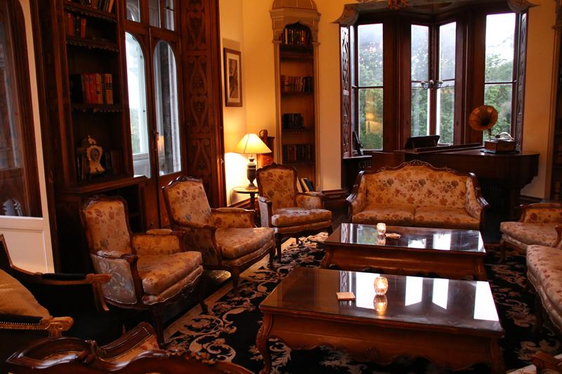 Das Chateau Rhianfa ist gemütlich eingerichtet