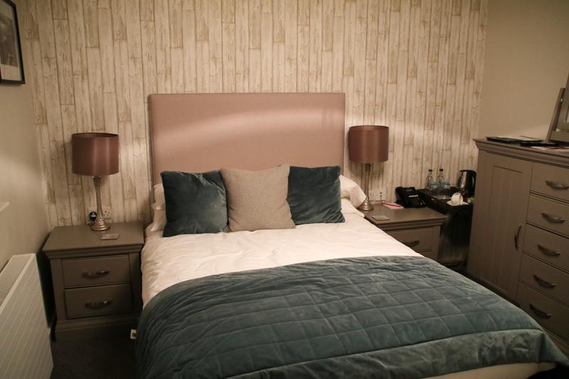 Mein Zimmer im Chateau Rhianfa