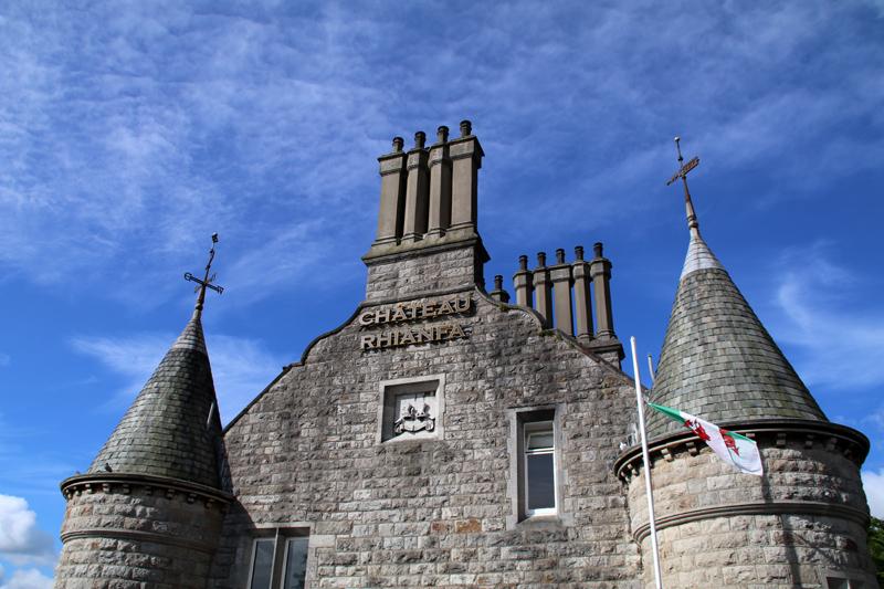 Das Chateau Rhianfa auf der Insel Anglesey