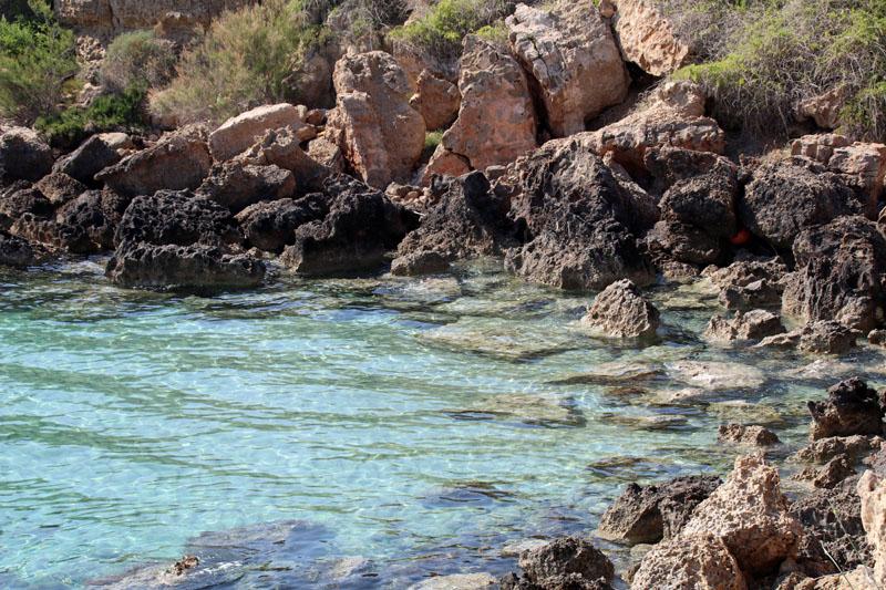 Die Farben des Meeres rund um Zypern sind ein Traum