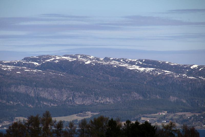Auf dem Olavsweg rund um den Trondheim-Fjord in Norwegen