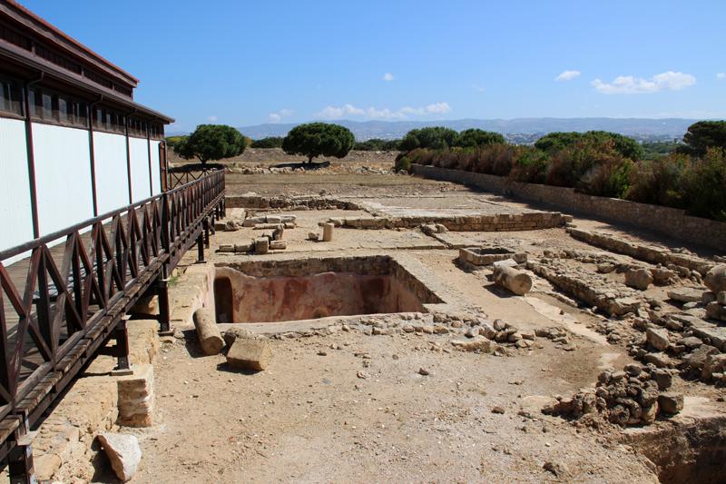 Das Haus des Dionysos in Paphos auf Zypern