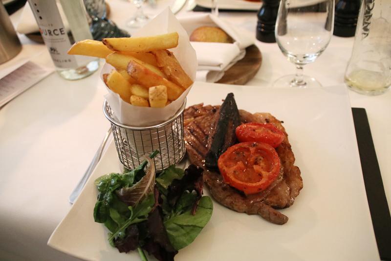Solide, aber nicht herausragend - ein Steak in Wales