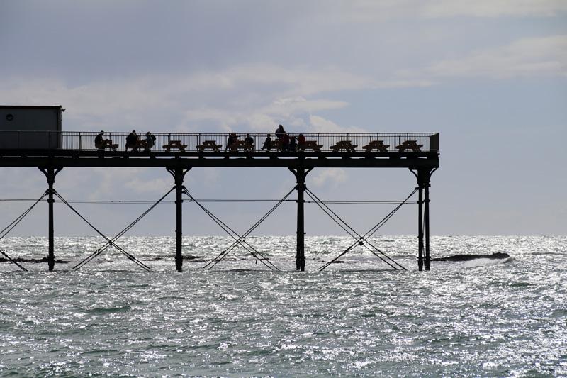 Pier in Aberystwyth