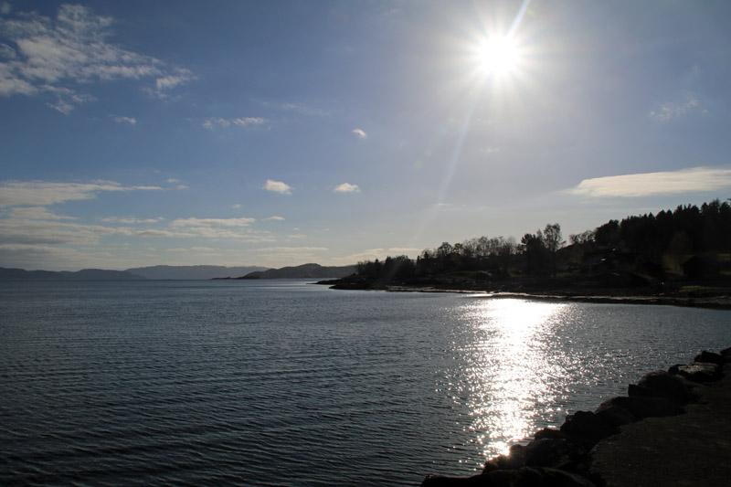 Der Goldene Umweg in Norwegen mit dem Jægtvolden Fjordhotel am Trondheim Fjord
