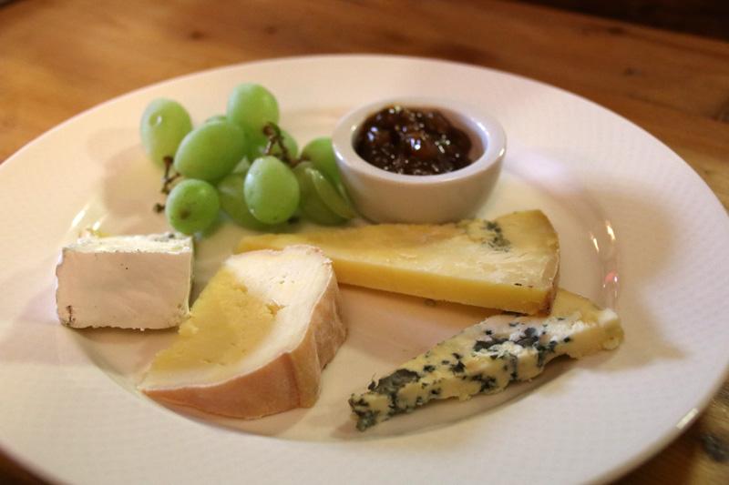 Auch der lokale Käse in Wales ist wirklich gut