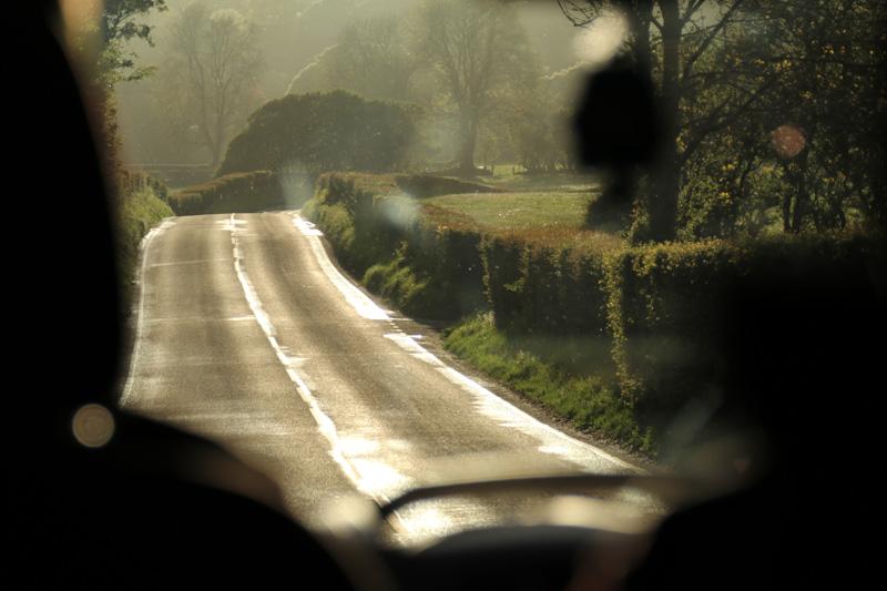Auch wenn es mal regnet, wird das Land Wales wenig später in ein zauberhaftes Licht getaucht