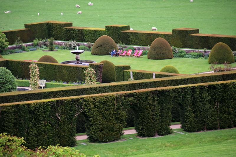 Die Walisischen Gärten von Powis Castle