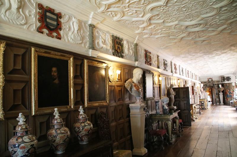 Galerie in Powis Castle