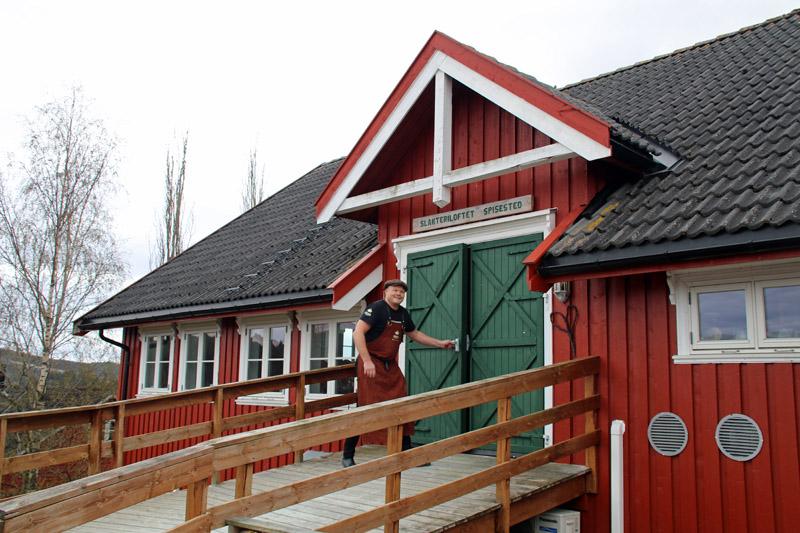 Der Goldene Umweg in Norwegen mit dem Berg Gård
