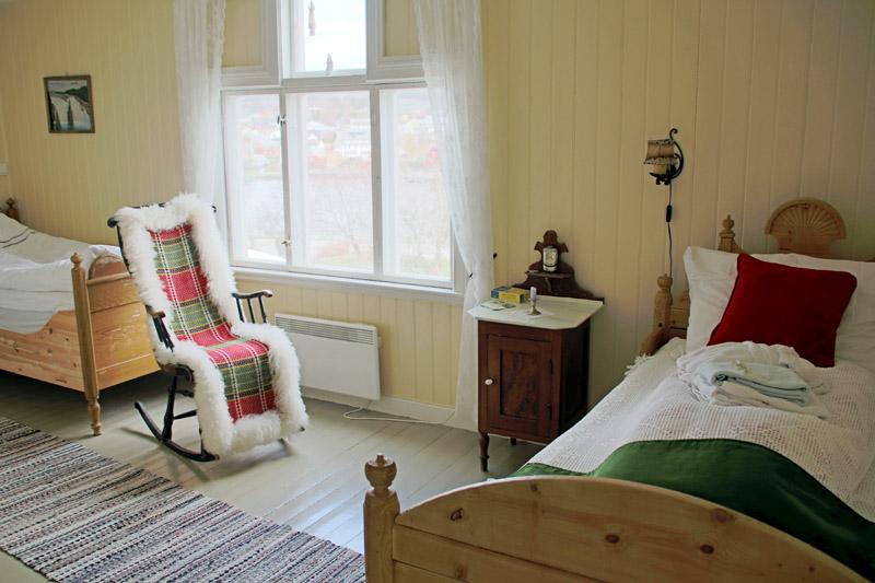 Der Goldene Umweg in Norwegen mit dem Strømnes Oldefars gjestehus