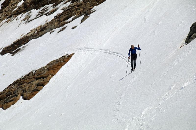 Auch Skitourengeher sind hier unterwegs