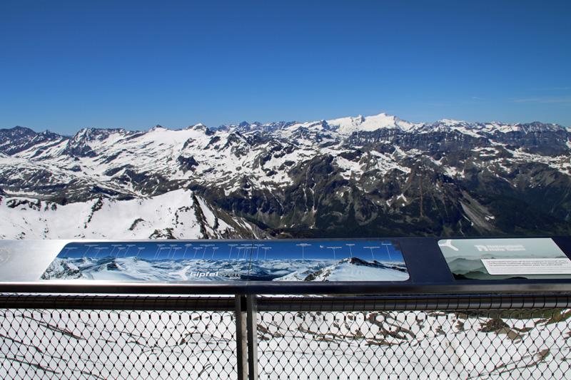 Diese Aussichtsplattform am Kitzsteinhorn begeistert mich