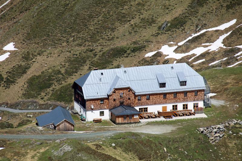 Die Krefelder Hütte am Kitzsteinhorn - Beim nächsten Besuch will ich hier übernachten