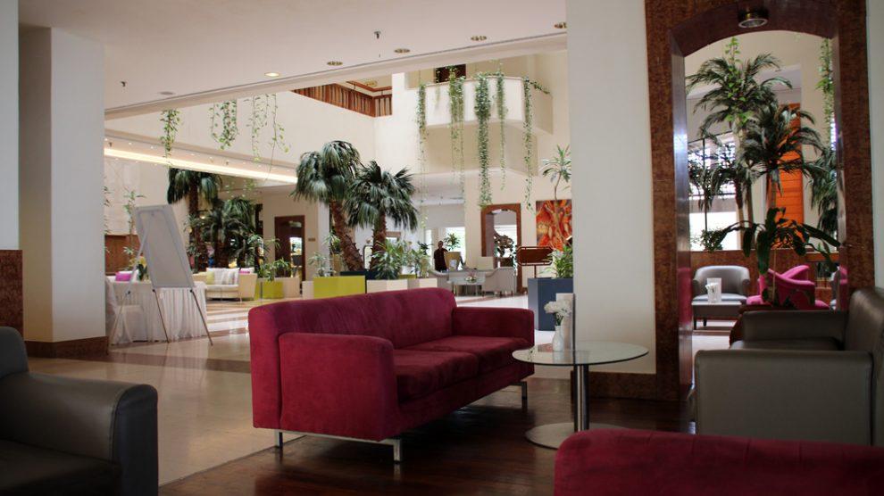 Eingangsbereich des St Raphael Resorts