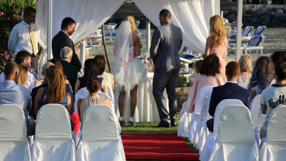 Heiraten auf Zypern ist beliebt. Auch im Hotel finden Hochzeiten statt