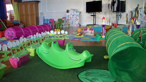 Der Spielbereich für Kinder