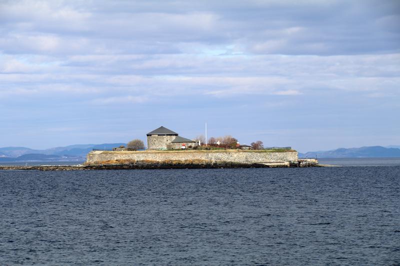 Festung Munkholmen in Trondheim