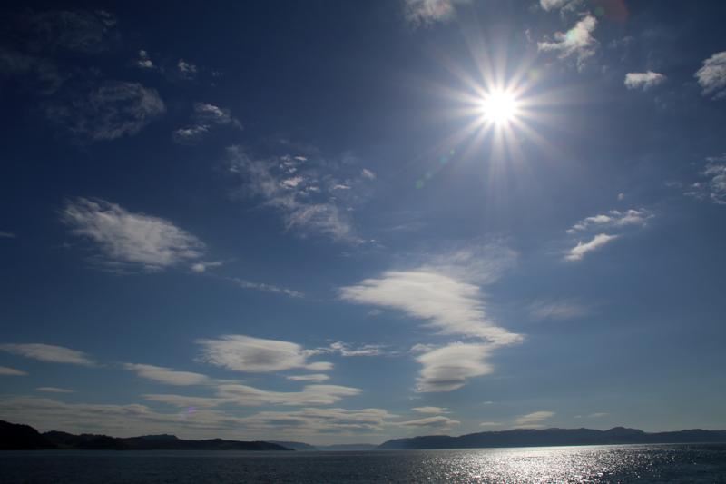 Das Licht rund um den Fjord ist magisch