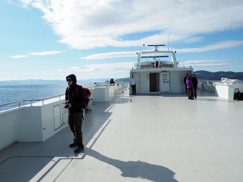 Eine Fahrt mit dem Katamaran nach Ørland lohnt sich besonders